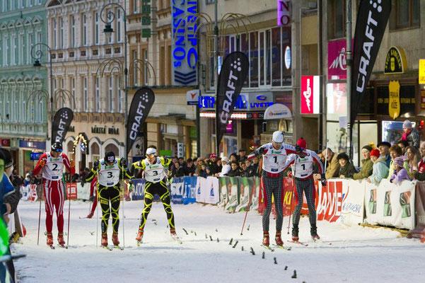 Рождественский спринт, фото с http://www.karlovy-vary.cz/