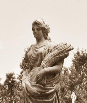Женщина с пшеницей О.о