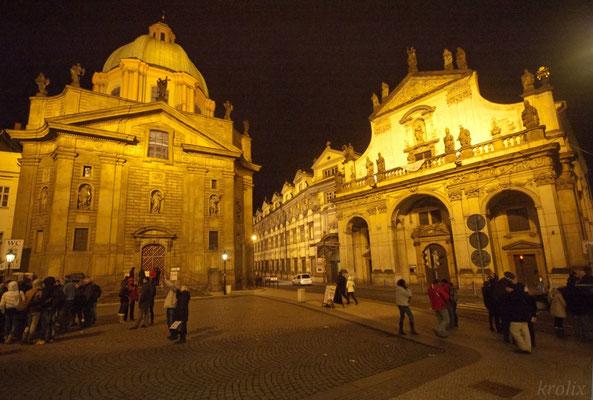 Подсветка старинных зданий