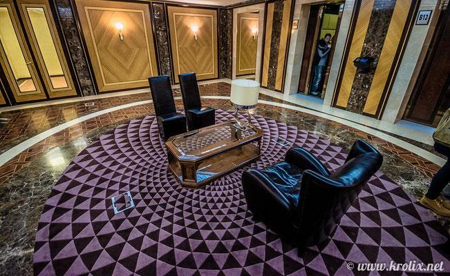 Места для переговоров в фойе 5х этажа
