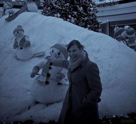 Снеговик из Торгового Центра