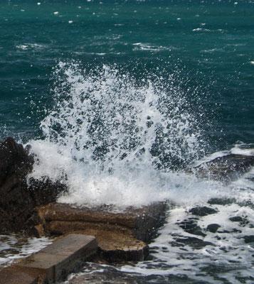 Неспокойное средиземное море