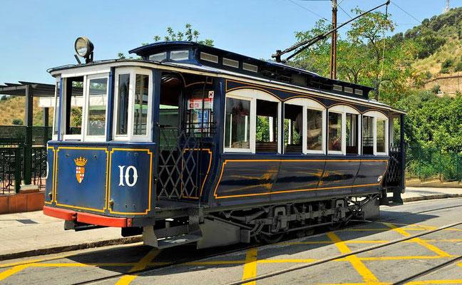 Голубой вагончик на конечной станции