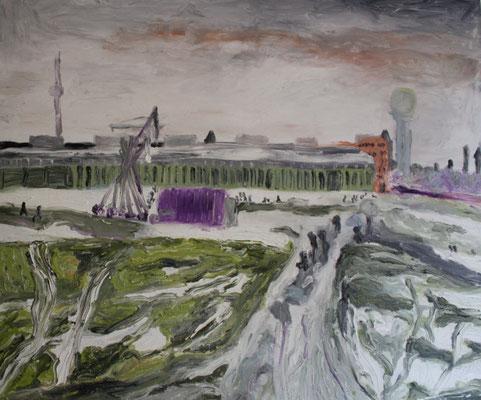 Tempelhofes Feld im Winter