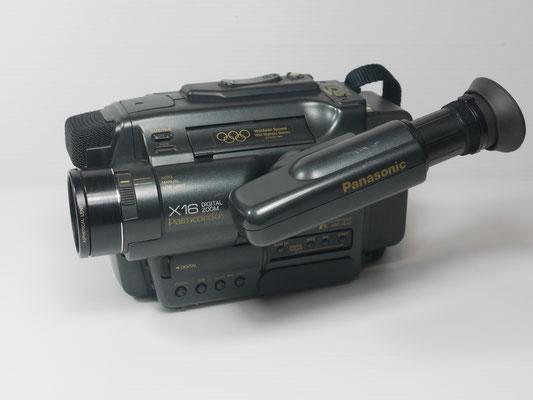 07A - PANASONIC NV-S7 VHS-C SONORO