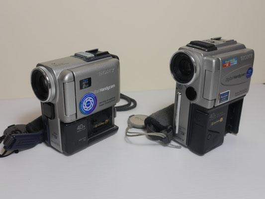 10-11 A SONY DCR-PC4E  + SONY DCR-PC3E  MINI-DV SONORO