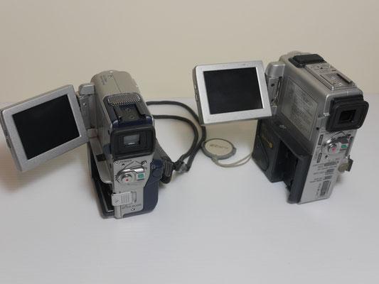 10-11 B SONY DCR-PC4E  + SONY DCR-PC3E  MINI-DV SONORO
