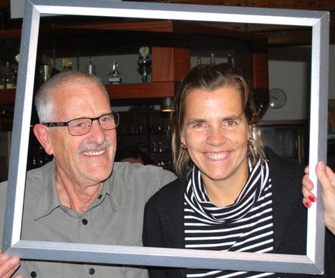 Tagessieger Katja Milkewitsch und Volker Breitung