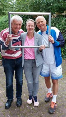 Tagessieger :Fiete Heussmann, Tina Schröder, Klaus Harder