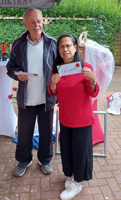 Turniersieger: Wolfgang Klug, Nancy Mentz