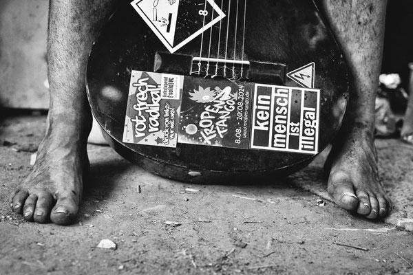 Rumpel's Füße, Rumpel's Gitarre