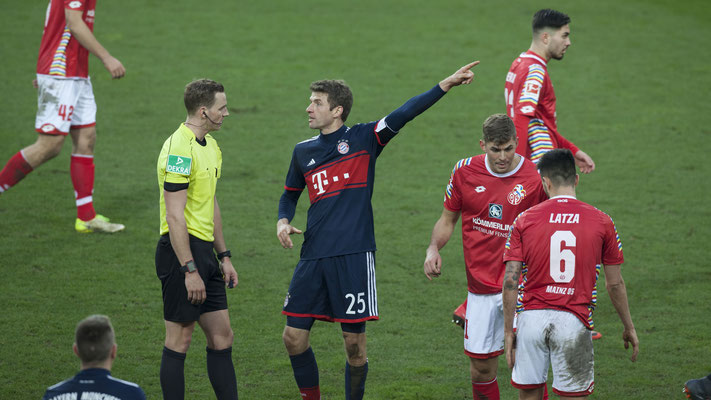 Fußball, 1. Bundesliga M05 - FCB