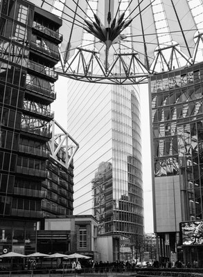 Berlin, Sony Center, Architekten: Helmut Jahn, Peter Walker