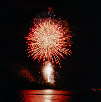 Feuerwerk, Weinfest, Boppard