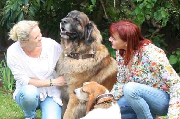 Tierheilpraktikerin Nadine Kosian mit Diana Eichhorn VOX