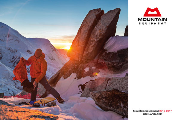 Mountain Equipment Katalog Schlafsäcke 2016-17