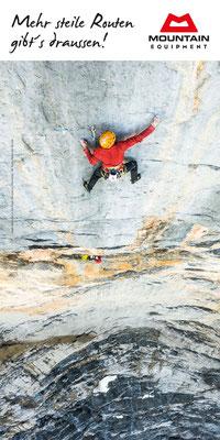 Mountain Equipment Türschild Kletterhalle Bad Tölz