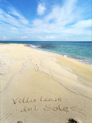 feinsandige Strandabschnitte