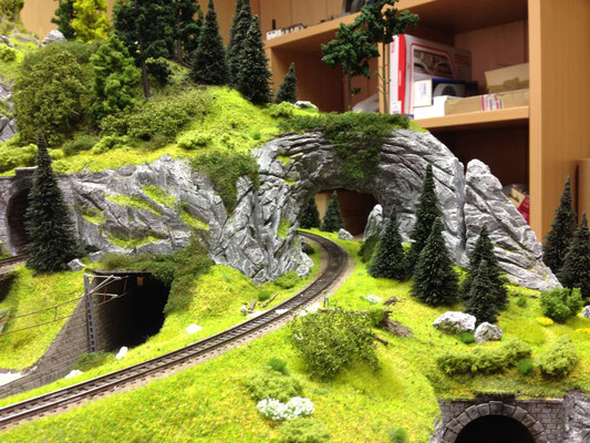 Felsen Gestalten Meine Modellbahn Tt Ganz Gross