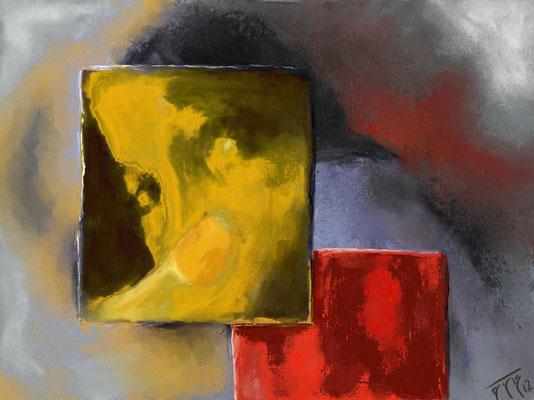 ZOOM ( Format 80x60) auf Leinen