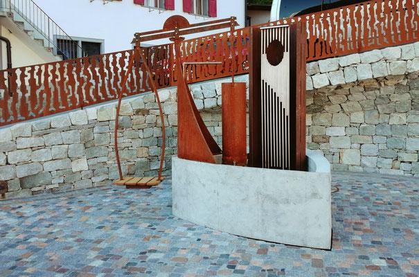 Projekt Brunnen/Fontauna Sontget