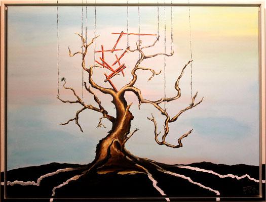 Asimilation (60x80) Acryl auf Leinwand