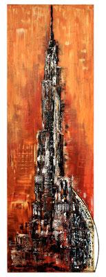 Höher (40x120) Acryl auf Leinen (Faszination des Machbaren)