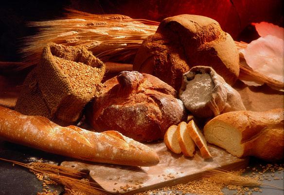 Unterschiedliche Brote