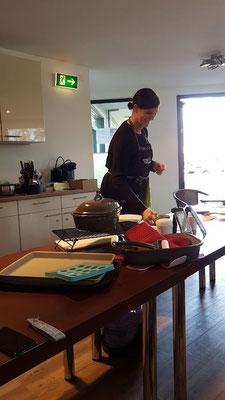 Kochshow von Pampered Chef