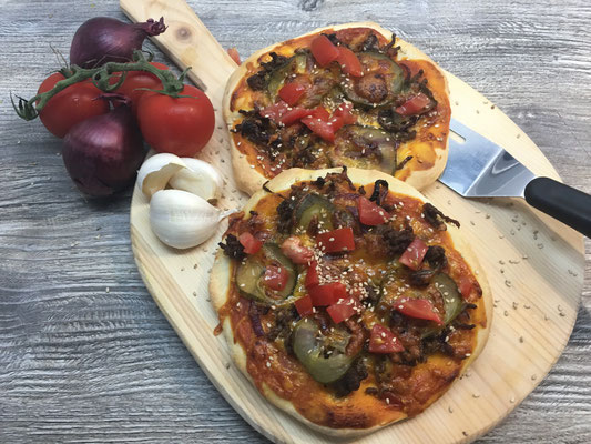 Cheeseburger- Pizza
