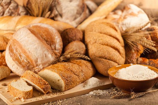 Brote, unterschiedlich