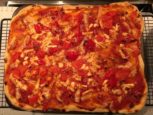 Pizza vom Zauberstein