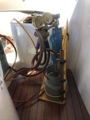 adding gas