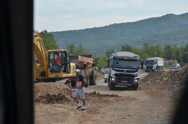 Balkan-Baustelle