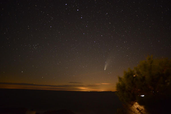 Neo-wise comet watching