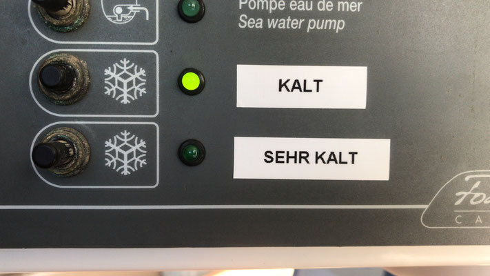 "connecting electricity, ""cold"" and ""very Cold"""