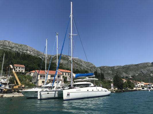 Dubrovnik at the shipyard