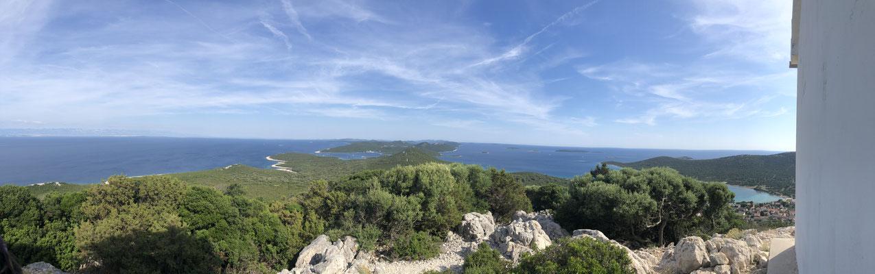Wanderung auf Otok Ist / some hiking on Island of Ist