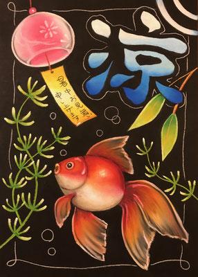 金魚と風鈴