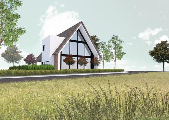 Ontwerp woonhuis weert studio boomm