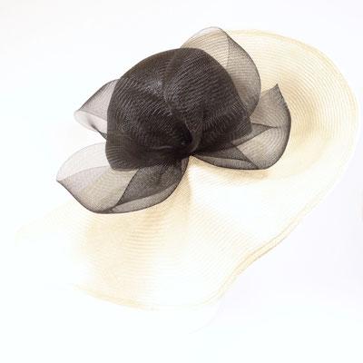 Damenhut sehr breitkrempig - Crinol Garnitur - Parasisol - 295.-