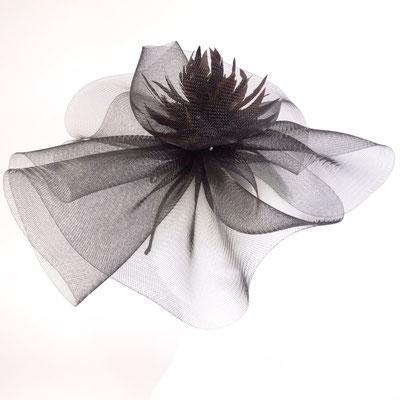 Crinol / Federblume - auf Haarreif - 125.-