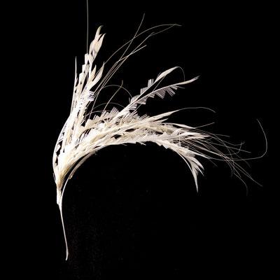 Reiherfedern - auf Haarreif