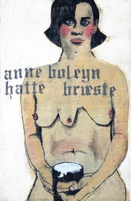 Polythelie. Anne Boleyn hatte Brüste.