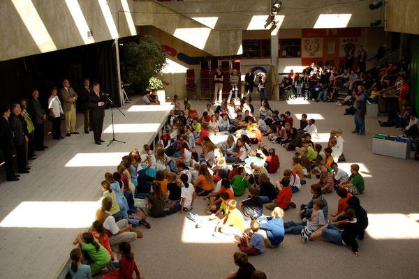 Deutsche Schule Washington mit Kurt Beck, 2005