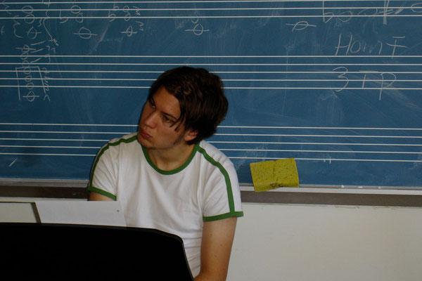 Deutsche Schule Washington, Workshop, Matthias Schriefl,2005