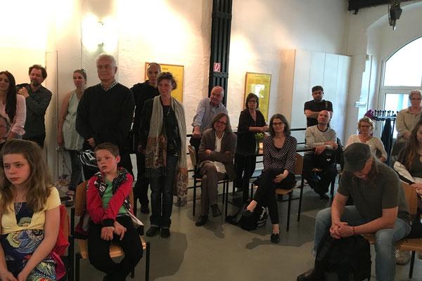 Eröffnung der Ausstellung am 14. Mai 2017