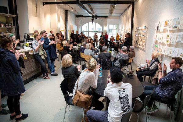 Eröffnung der Ausstellung am 14. Mai 2017  •  © Sascha Göpel, 2017