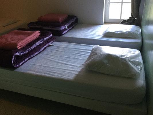 Chambre 2 gite des Prés salés 4 lits Ferme Relais de la Baie de Somme gîtes de groupe baie de somme