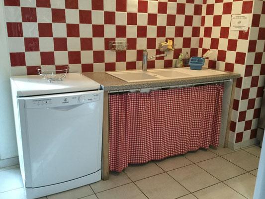 La cuisine du gîte des Prés Salés Ferme Relais de la Baie de Somme gîtes de groupe baie de somme